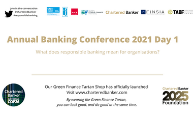 Chartered Banker Annual Banking Conference 2021 - Day 1