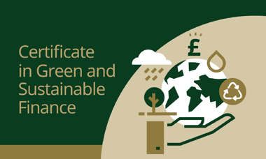 Certificate in Green and Sustainable Finance