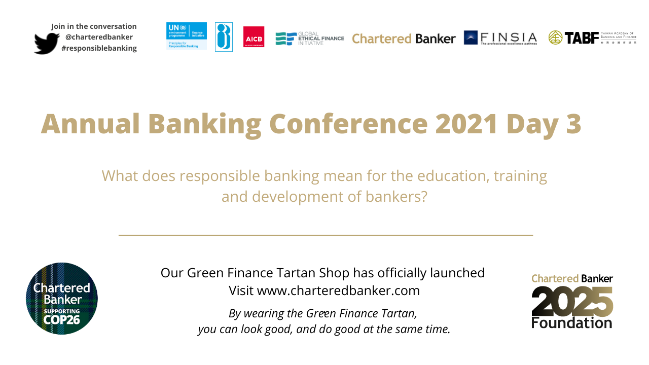 Chartered Banker Annual Banking Conference 2021 - Day 3