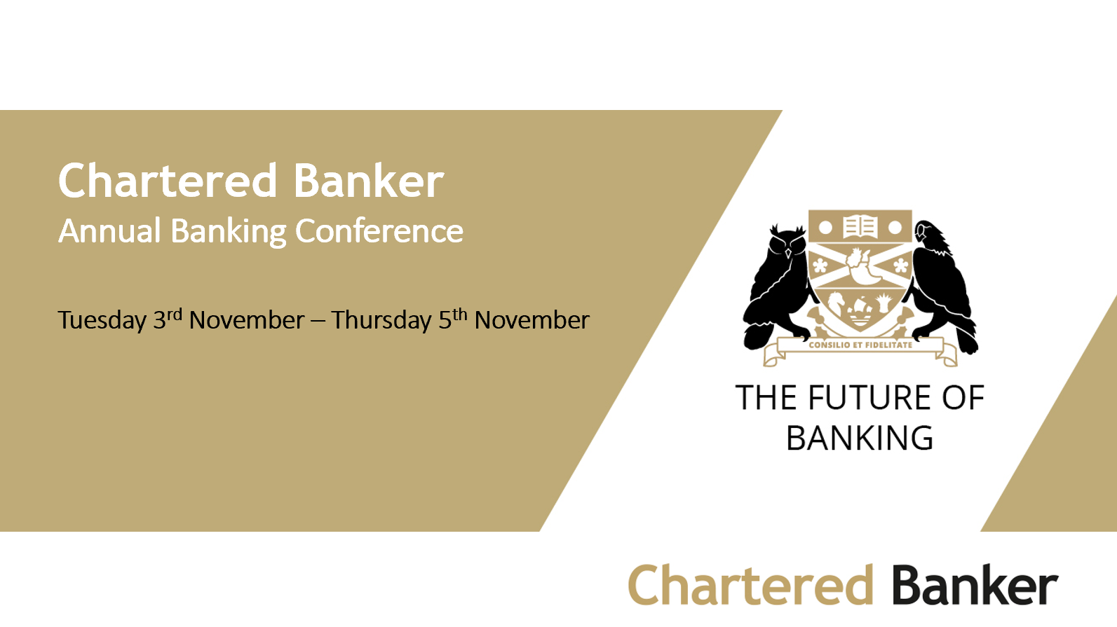 Chartered Banker Institute Annual Banking Conference 2020 - Technology v the People Debate