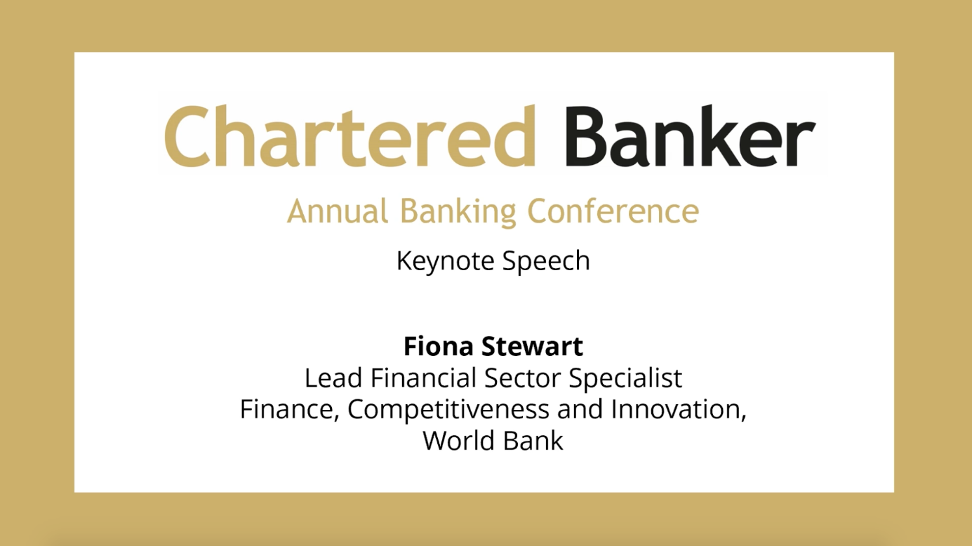 5th November 2020 Annual Banking Conference Key Note Speech