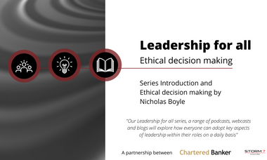 Leadership for all Series: Ethical decision making