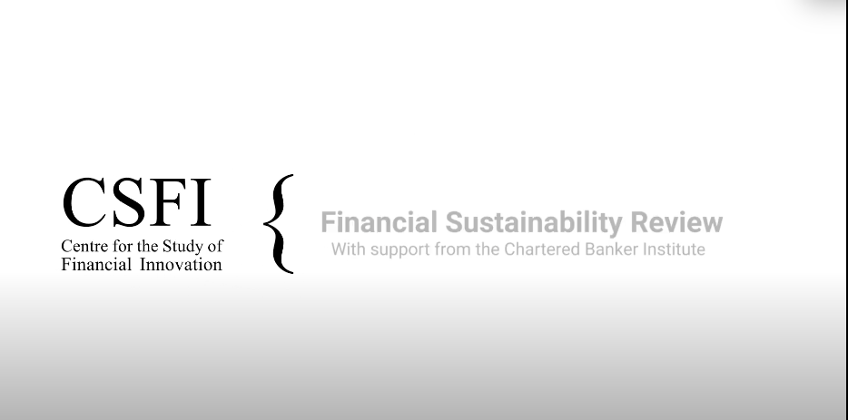 Financial Sustainability Review: with Ben Caldecott, Isabelle Laurent and Simon Thompson - CSFI