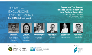 Tobacco Exclusions and Net Zero