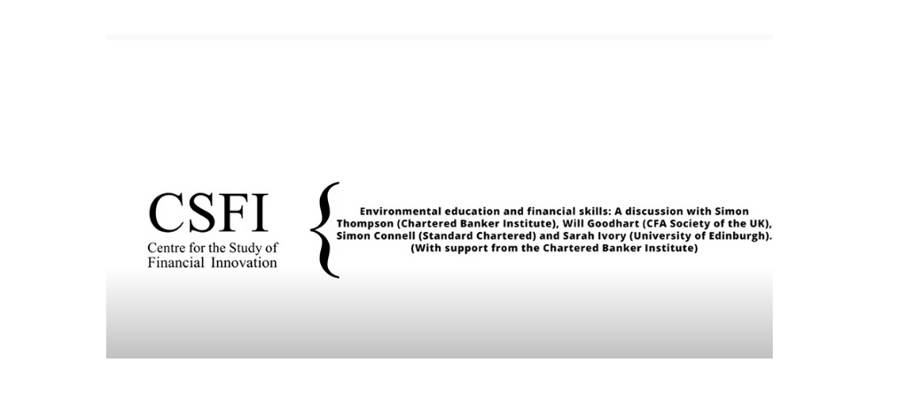 Environmental education and financial skills - CSFI