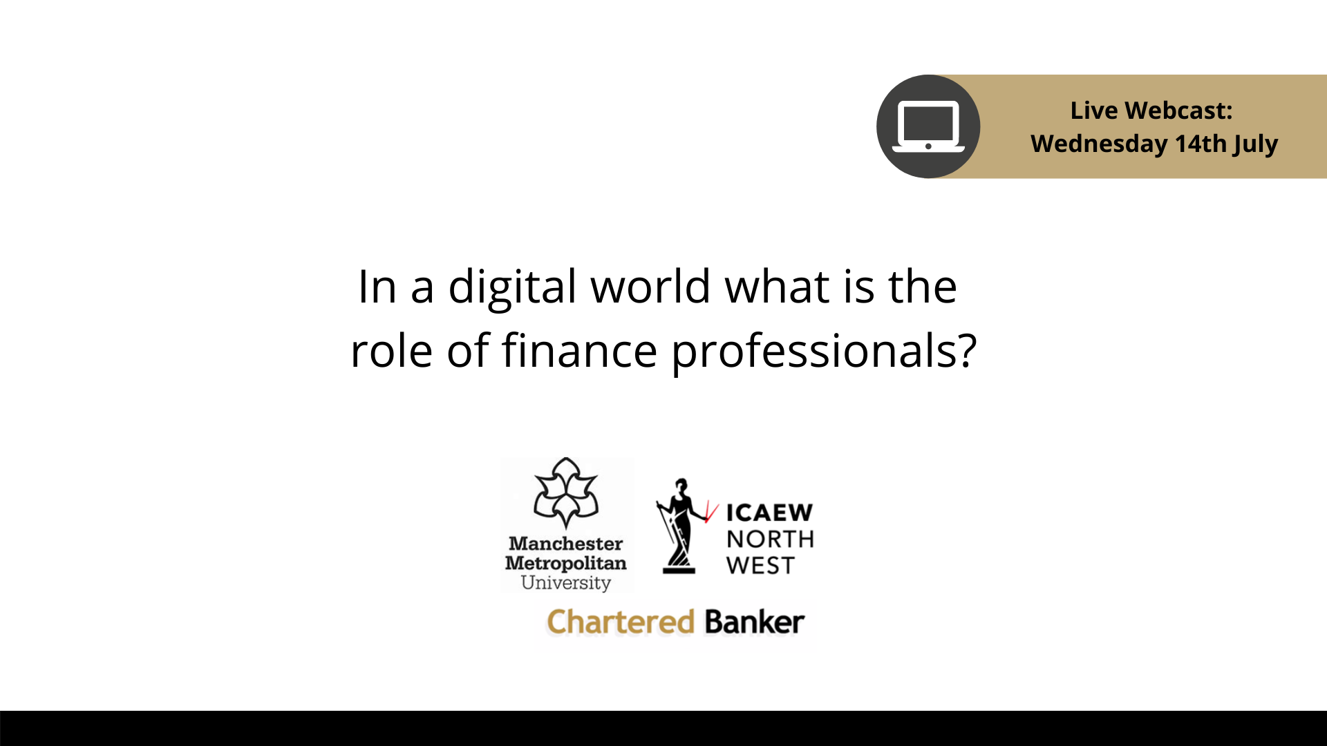 In a digital world what is the role of finance professionals?